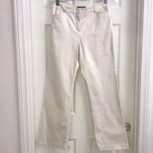 New York & Company Off White Dress Pants